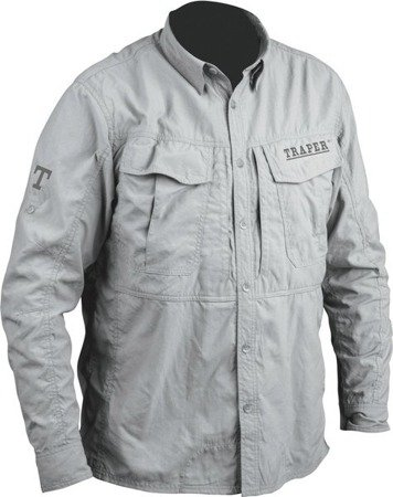 Shirt TRAPER MONTANA Light Grey L