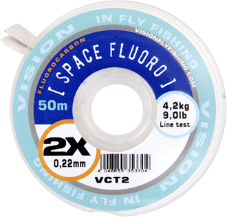 Vision SPACE FLUORO tippet 6X - 50m