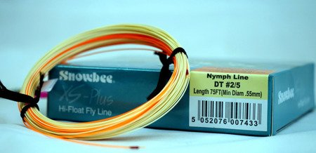 Nymph Line Snowbee XS Plus Floating Uni-weight