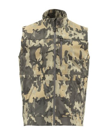 Simms Rogue Vest Hex Flo Camo Timber 4XL